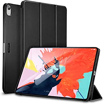 Supports Apple Pencil 2 Wireless Charging Lightweight Stand Case with Clasp ESR Case for iPad Pro 12.92020 4th Gen,Yippee Trifold Smart Case with Auto Sleep//Wake Hard Back Cover,Navy Blue