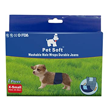 Lavable hembra perro pañales para pañales resistente