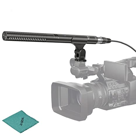 comica CVM-VP2 - Micrófono de Condensador de diodos para cámara ...