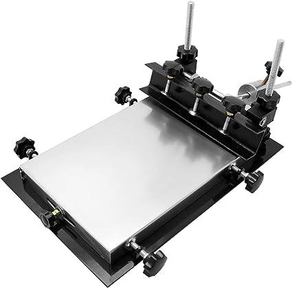 SMT HIGH PRECISION Manual Screen Printer for flat printing PCB