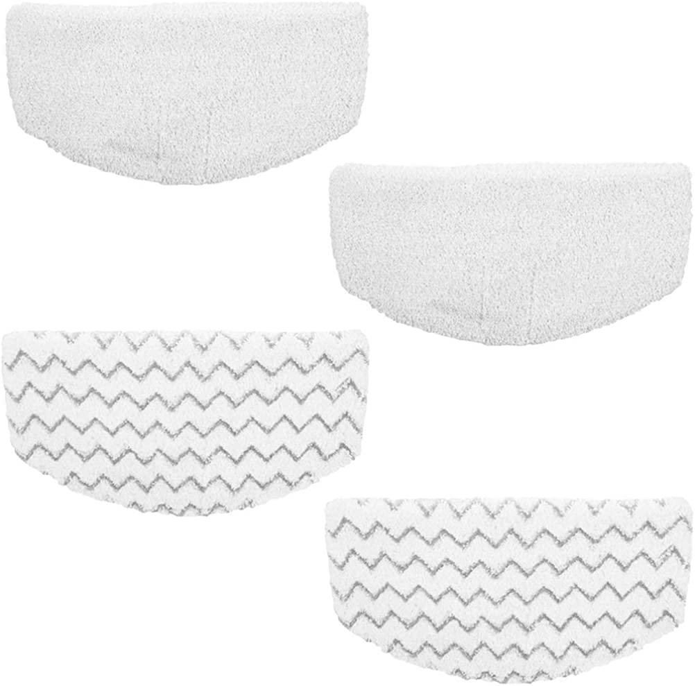 Steam Mop Pads Compatible for Bissell Replacement Washable Cleaning Steamer Pads