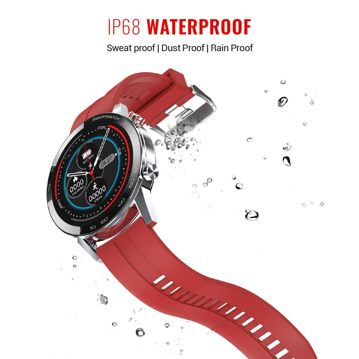 Vikyuvi Vikfit Gear 360 Smartwatch