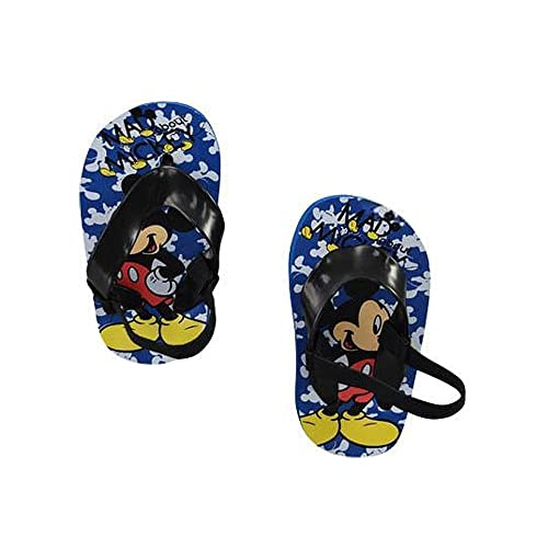 7caffc533b49 Disney Mickey Mouse Infant Baby Boys Beach Flip-Flop Sandals with Heel  Strap (1