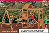 Playstar 7719 Champion XP Play Station Building Kit (Lumber, Screws, and Slide are Not Included)