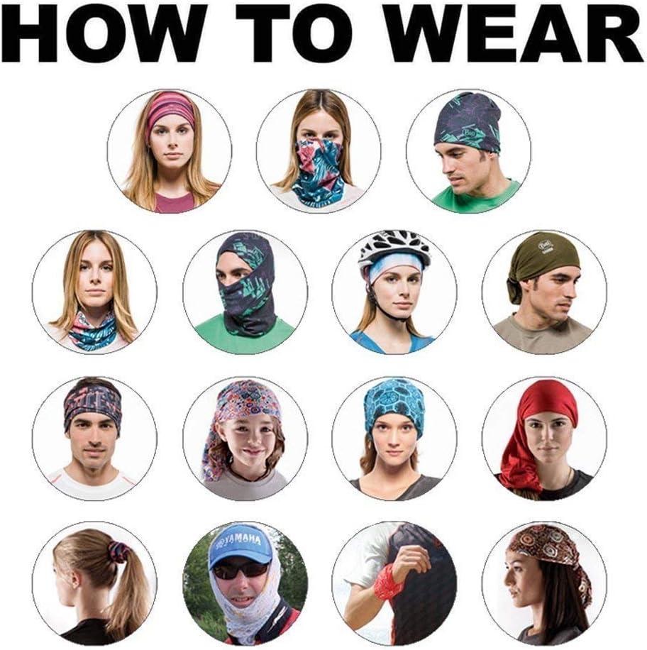 Anti-UV Anti-Vent pour Le Camping la p/êche Masque 3D Anti-poussi/ère la Chasse la Course la Moto TEFITI Cagoule Multifonction pour Homme