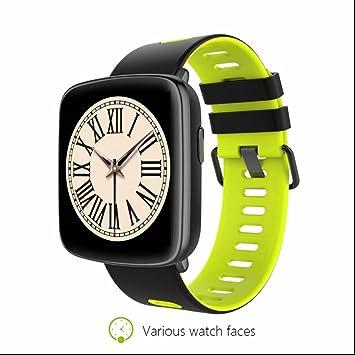 Smart Watch Reloj Inteligente Bluetooth Smartwatch Teléfono con Análisis de Sueño,Podómetro,Anti-pérdida,Alertas de mensajes Pulsera Bluetooth Móvil ...
