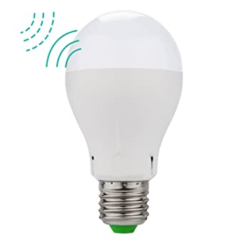 5w radar motion sensor led light bulb a19 led indoor outdoor minger 5w radar motion sensor led light bulb a19 led indoor outdoor motion sensor light e26 e27 mozeypictures Gallery