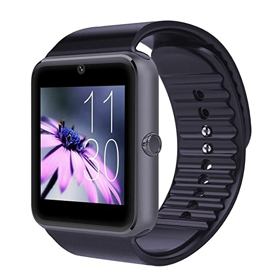 Tagital T6 Bluetooth Smart Watch Wrist Watch with Camera For Android IOS Smart Phone Samsung S5