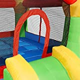Cloud 9 Mighty Bounce House - Inflatable Bouncing Jump and Slide with Air Blower - Castle Theme
