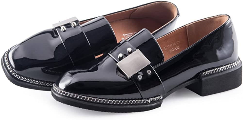 MET RXL Spring Block Ladies Shoes//England-Style Leisure Womens Shoes//Flat Flat Shoes