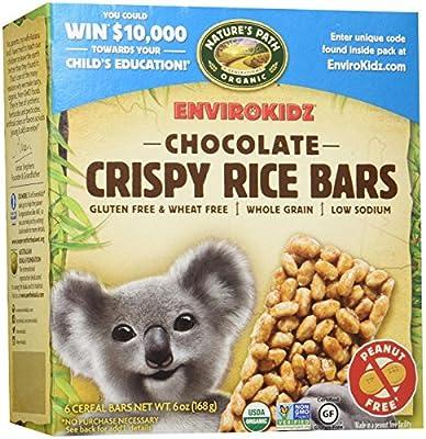EnviroKidz Crispy Bars - Chocolate - 1 oz - 6 ct