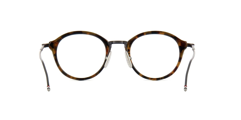 8f305b62aa8c Eyeglasses THOM BROWNE TB 011 B Tokyo TortoiseBlack Iron at Amazon Men s  Clothing store