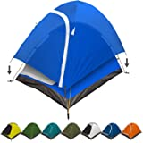 REVALCAMP 3-in-1 Camping Tent - Waterproof & Windproof 4 Season Tents for Camping, Backpacking & Hiking - Durable & Easy to S