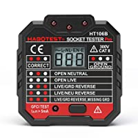 Deals on HABOTESE Advanced RCD Electric Socket Tester