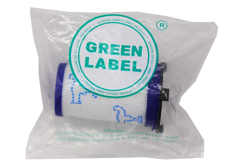 Reemplaza a ZR009001 Green Label Filtro de Espuma para los Aspiradores Escoba Rowenta y Tefal de la Serie Air Force 360