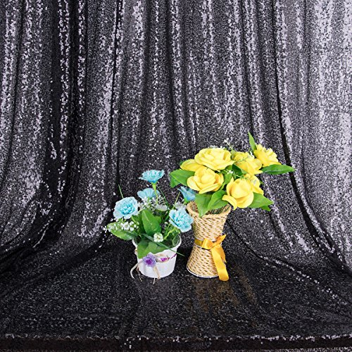 KOLCY 4FTx6FT Photo Backdrop Blush Sequin Backdrop,Prom Phtography Background,Curtain Fabric Photo Booth