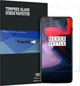 OnePlus 6 Screen Protector, TopACE Premium Quality Tempered Glass 0.3mm Film for OnePlus 6 (2 Pack)