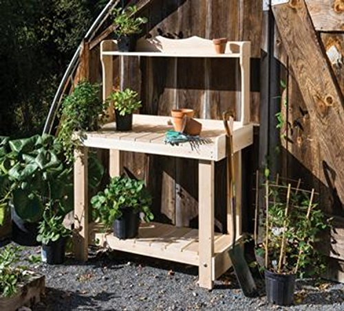 Cedar Garden Potting Bench - 3