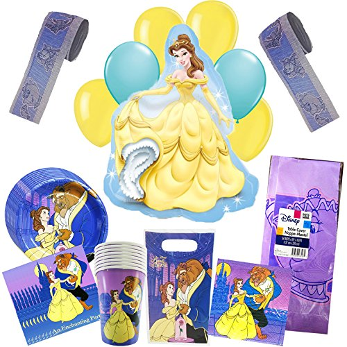Disney Beauty & the Beast Party Pack 58pc by Rapid-N- Guaranteed