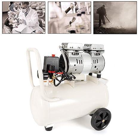 Z&Y Compresor de aire Caldera silenciosa de aire comprimido silencioso 30L 750W 220V para pintura de