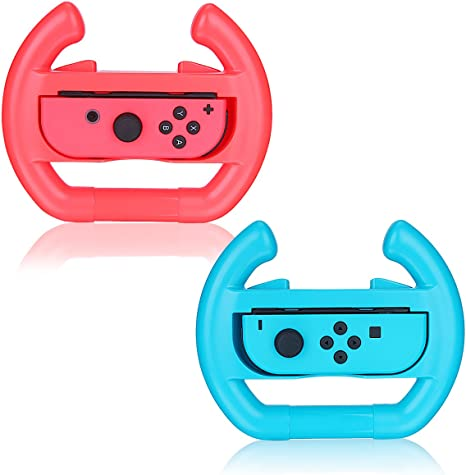 Joy-Con Volante para consolas de Nintendo, [2 Paquete] ohCome ...