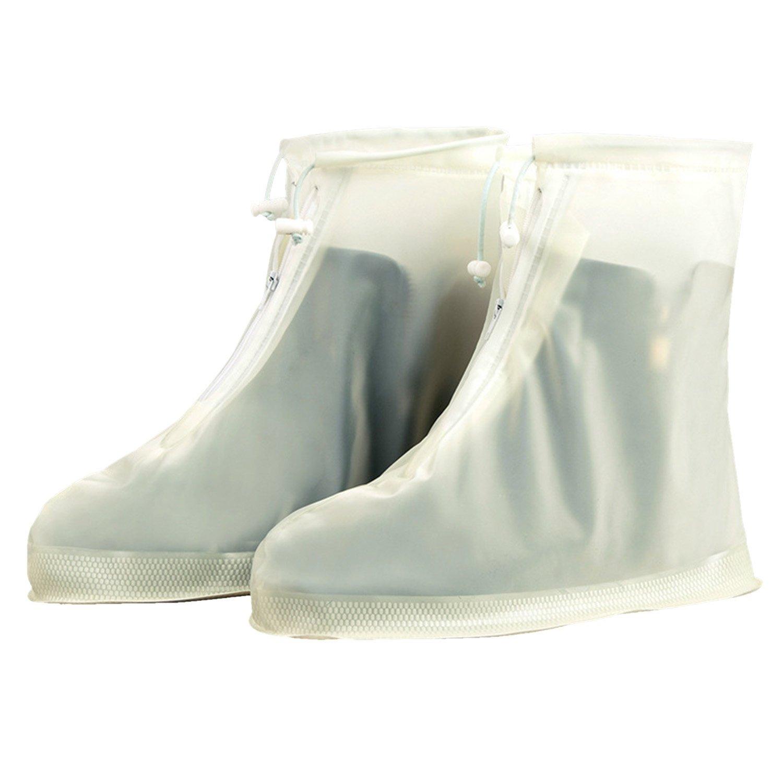 Sasairy Couvre-Chaussures Réutilisable Imperméable Pluie Neige Chaussures Housses Antidérapantes Unisexe