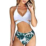 MOOSKINI Womens Padded Push-up Bikini Set Bathing