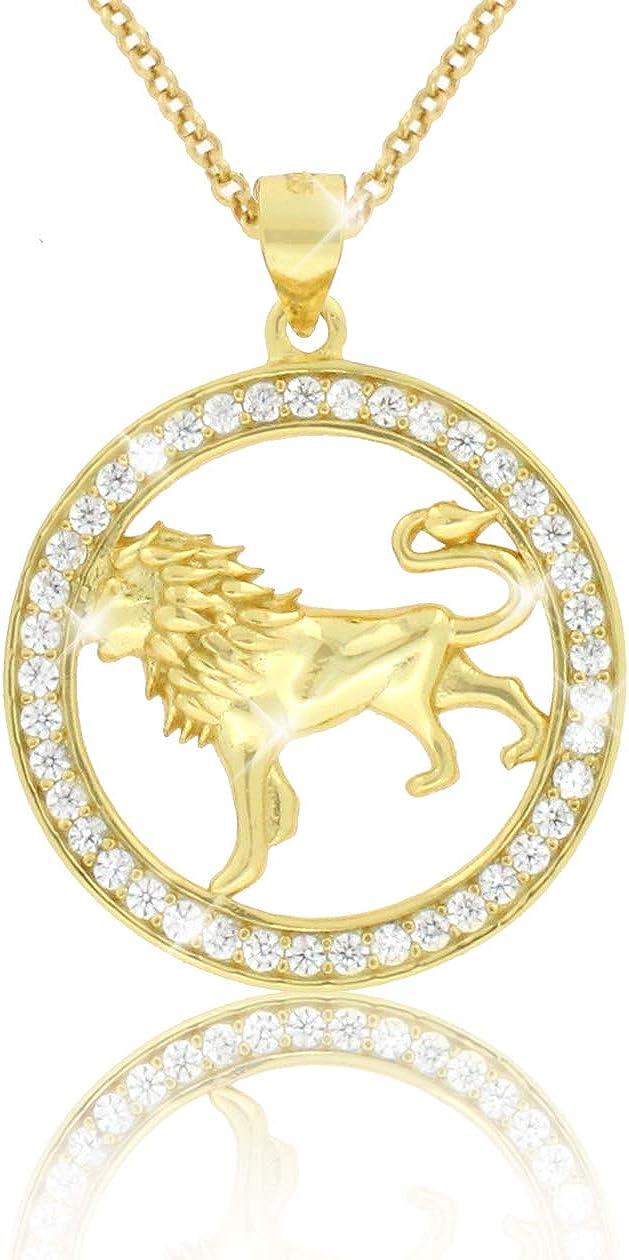 """Pendentif signe du zodiaque /""""Lion/"""" environ 7,5 CM"""
