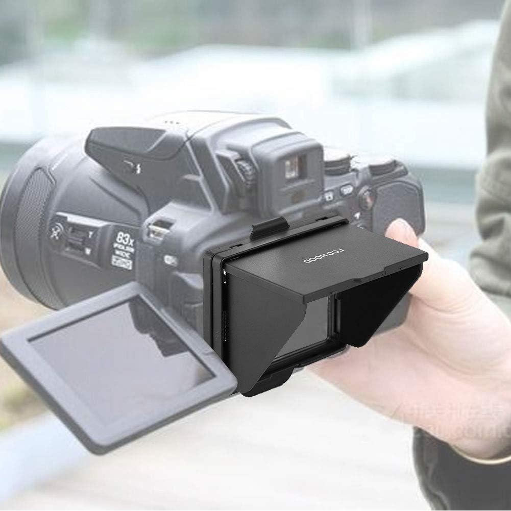 Foldable Sun Shield Hood Cover for Nikon D810//D800 DSLR Camera Camera LCD Screen Protector Diyeeni LCD Pop-up Screen Shade
