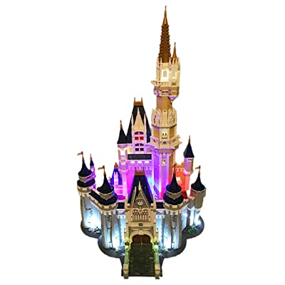 RAVPump LED Lighting Kit for Disney Castle Blocks Model - LED Light Set Compatible with Lego 71040 ( Lego Set not Included ): Toys & Games