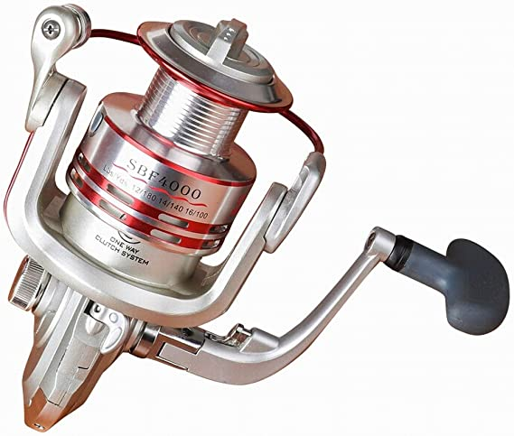 Uzanesx Carrete de Pesca 13 + 1BB Carrete de Pesca de Spinning ...