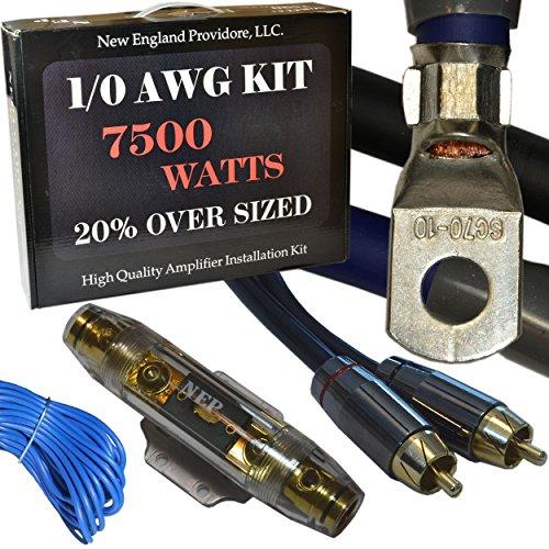 0 gauge wiring kit for car audio - 6