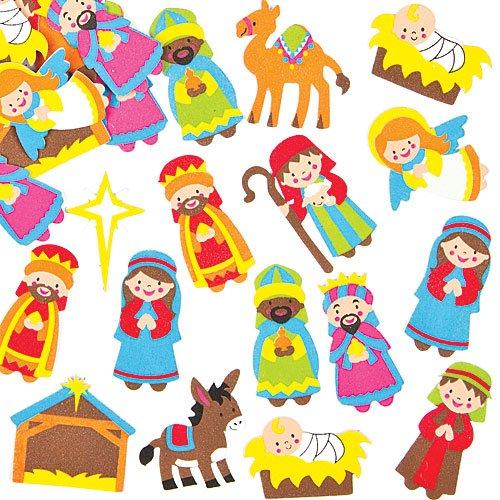 Belenes infantiles perfect portal de navidad de playmobil for Amazon figuras belen