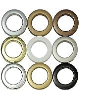 GARDINEUM Stoffösen mit 40 mm Stoffloch Kunststoff,10 Stück - In 9 verschiedenen Farben erhältlich!