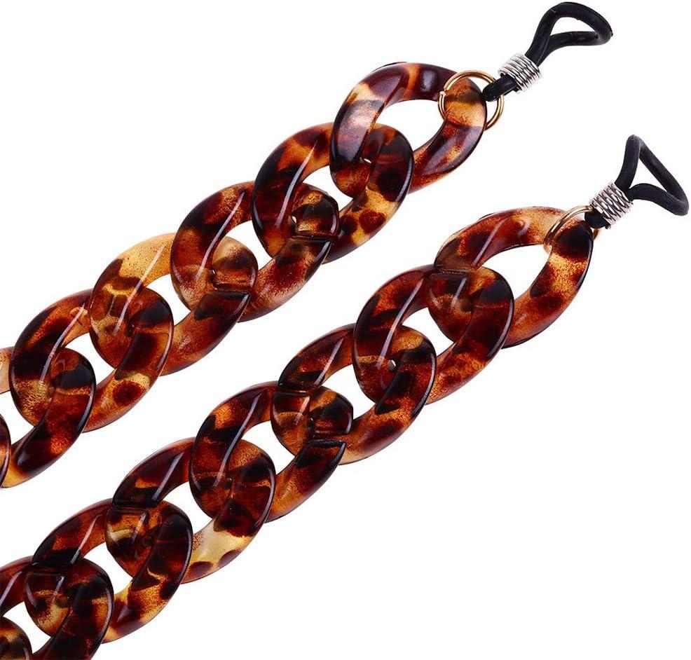 Pegcduu Cord degli Occhi Occhiali da Sole della Catena del Collo Occhiali Antiscivolo Occhiali da Lettura per Cinghia in PVC String