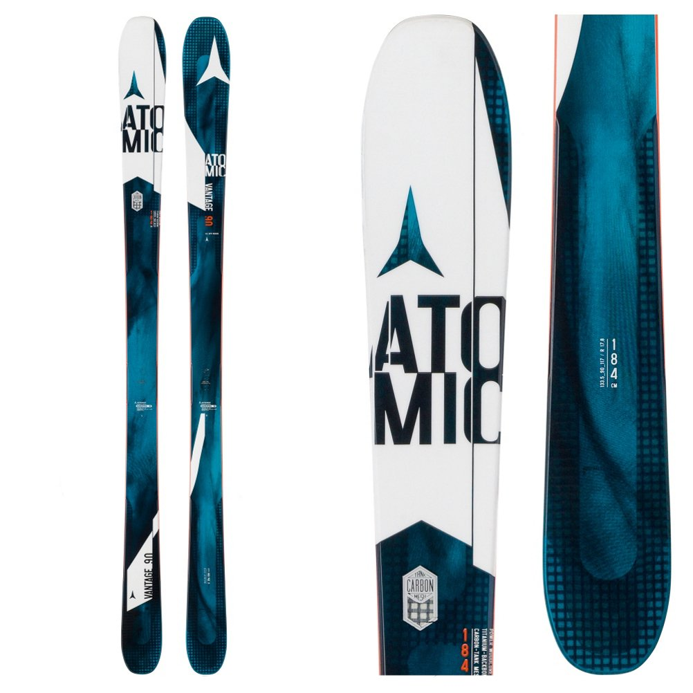 Atomic Vantage 90 CTI Skis – Not for Those with a Limited Budget