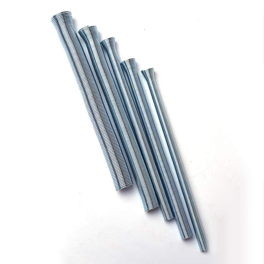LOadSEcrHome Improvement Tools 5Pcs 1//4 5//16 3//8 1//2 5//8 Spring Tube Bender Kit Bending Pipe Tubing Set Handyman Tool