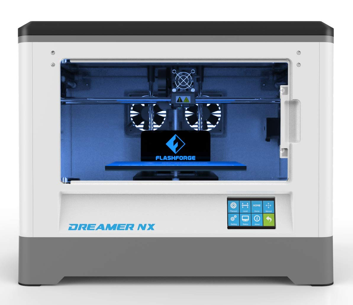 FlashForge Dreamer NX 3D Printer, Almost Fully Assembly, Works with Various Filaments Like ABS, PLA, PETG and Flexible Ones, Print from Wi-Fi, USB ...