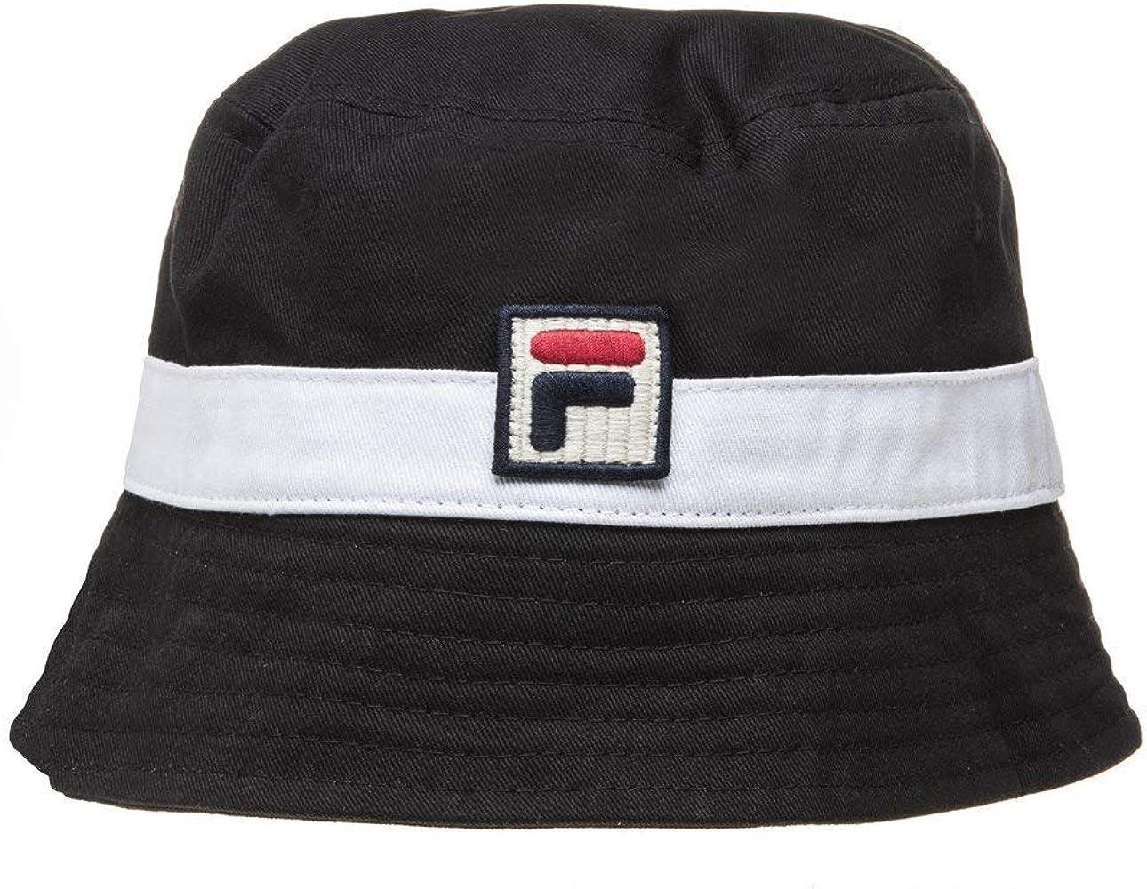 Fila Basil Hombre Bucket Hat Negro: Amazon.es: Ropa y accesorios