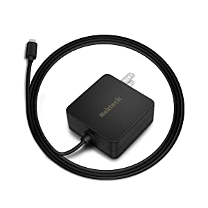 USB C Charger, Nekteck 45W Type C Laptop Charger with Power Delivery, USB-IF Certified, Built-in 6ft Cable for MacBook 12 inch, Dell XPS, Pixel 3/XL, Galaxy, Nintendo (NOT Ideal for Note10/S10/10+PPS)