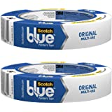 3M 1 in. FBA_209024A Scotch 2090 Painters Tape: 1 in. x 60 Yds. (Blue) - 2 Pack