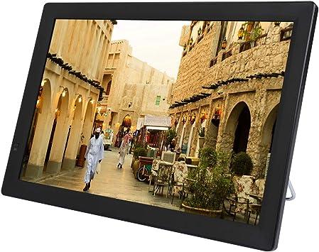 Focket Televisión Digital de 14 Pulgadas, Pantalla táctil de Alta sensibilidad 1080p TFT-LED TV, soporta Tarjetas SD y MMC, USB, HDMI, VGA para el hogar/automóvil/Caravana/Camping/Exterior: Amazon.es: Electrónica