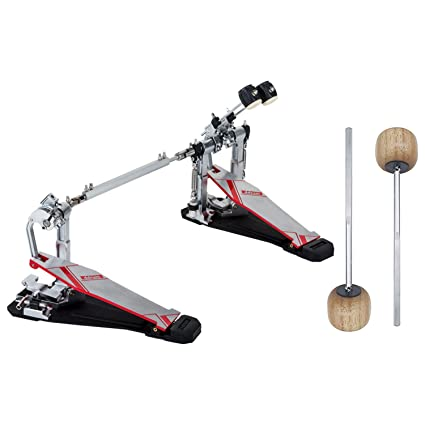 Amazon.com: Ddrum QS DBDP Quick Silver Series Double Bass Drum Pedal w/ 2 Extra Wood Beaters: Musical Instruments