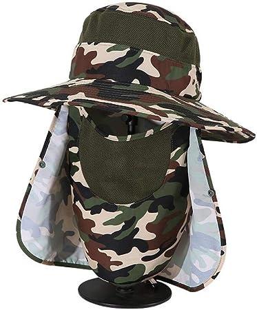 XUERUI Sombreros Sombrero para El Sol Lado Ancho Plegable Gorra De ...