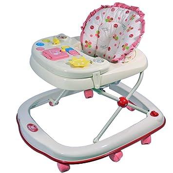 Amazon.com: Baby Walkers 7 posiciones de ajuste con ruedas ...
