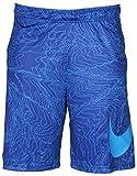 NIKE DRI-FIT GRAPHIC PRINT BLUE TRAINING BASKETBALL SHORTS, Size XL
