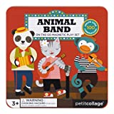 Petit Collage Mix and Match Magnetic Tin Animal Band