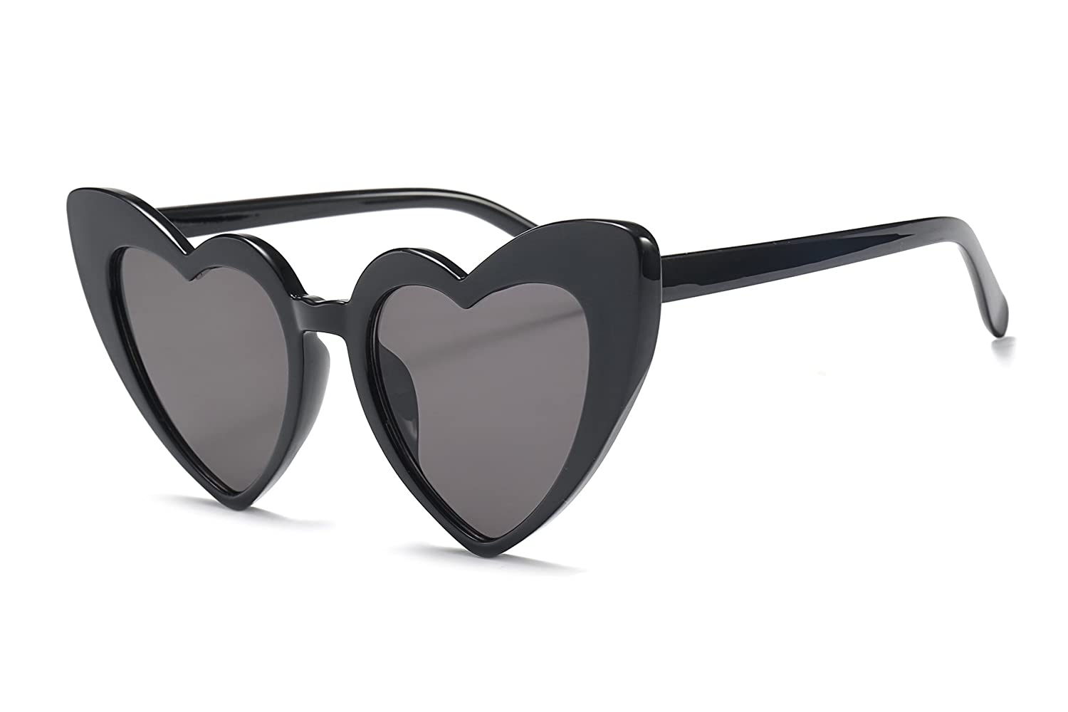 3bf67797e8 FEISEDY Vintage Heart Shaped Sunglasses Stylish Love Eyewear Women Great  Christmas Gift B2421  Amazon.co.uk  Clothing