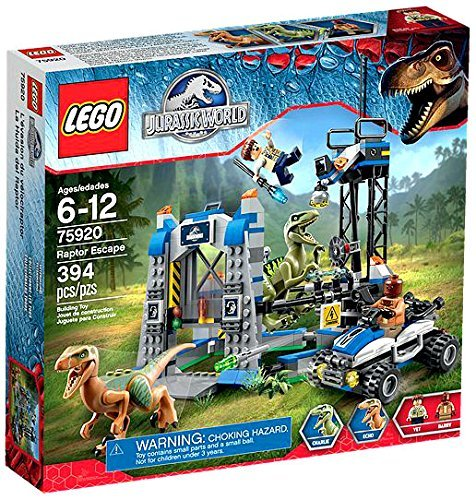 394 Pieces, Raptor Escape Building Set by LEGO
