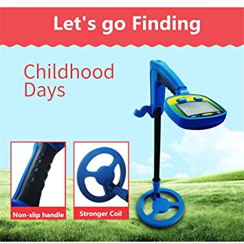 QUARK Precio al Aire Libre Playa niños Detector de Metales Detector de Metal Mini portátil niños